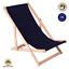 miniatura 14 - Silla tumbona tumbona de playa tumbona para tomar el sol tumbona de jardín tumbona de madera plegable tumbona relax