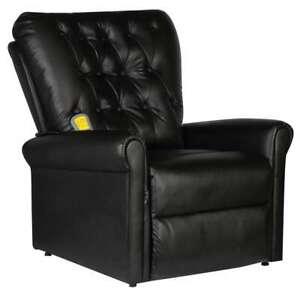 vidaXL-Sedia-Poltrona-Elettrica-da-massaggio-elettrica-reclinabile-ecopelle-nera