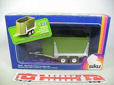 AP440-1# Siku 1:32 2255 Westfalia-Tiertransporter in metallo, molto buono+OVP