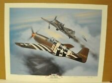 by Jerry Crandall Russian Ace!! Pilot Signed Kozhedub Lavochkin La-7 Ivan N