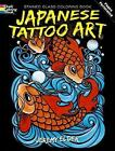 Japanese Tattoo Art Stained Glass Coloring Book by Jeremy Elder (Paperback, 2010)