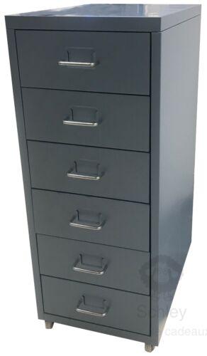 IKEA Büroschrank HELMER rollbar Schreibtisch Rollcontainer 69x43x28cm