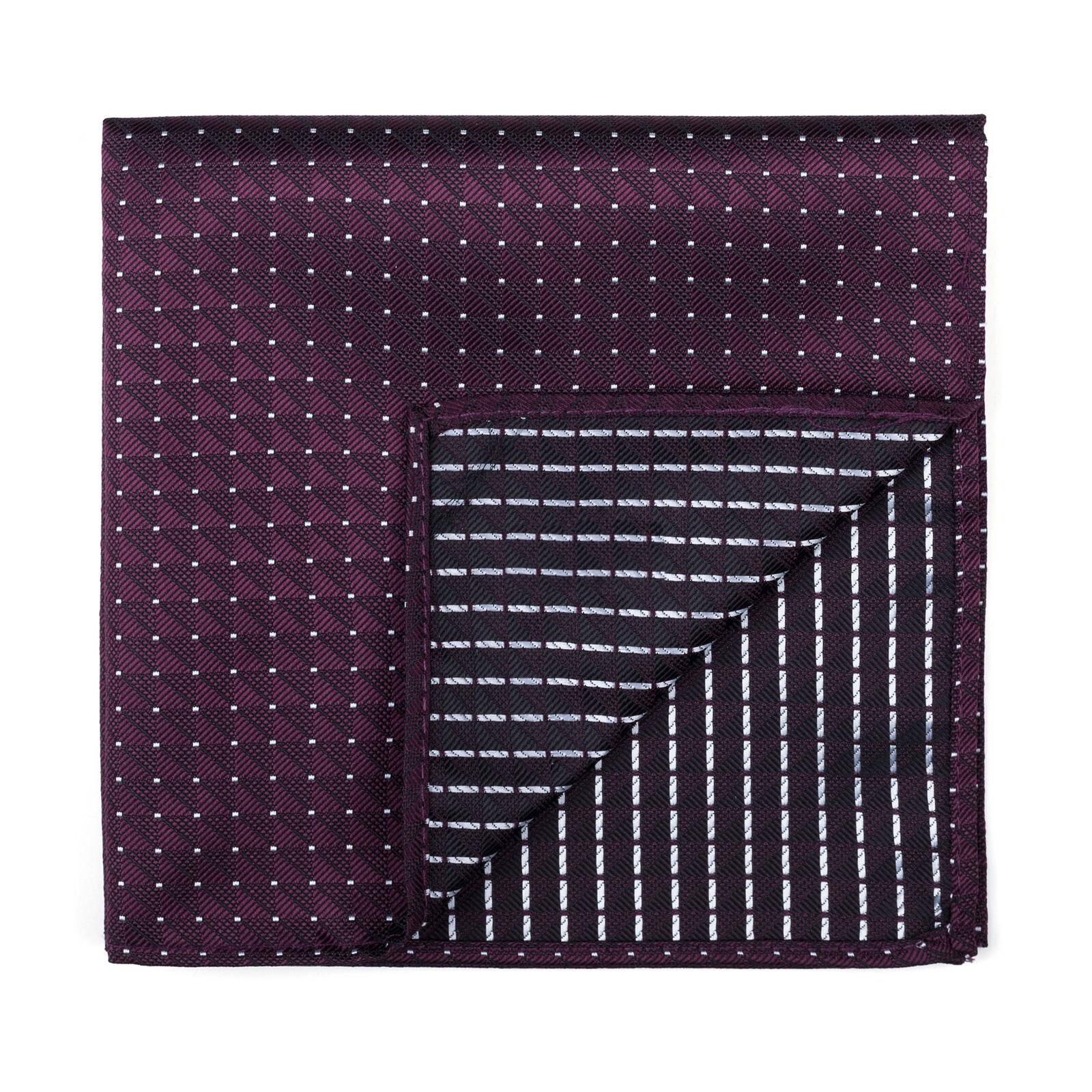 UK Pocket Square Fine Polka Dot Wedding Handkerchief Multiple Colours