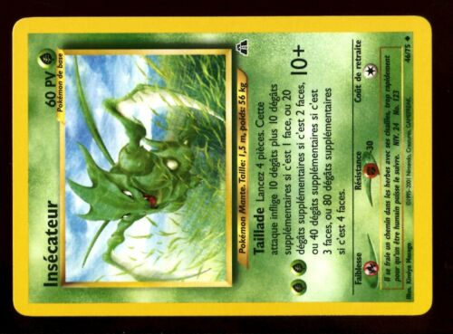 POKEMON NEO DISCOVERY UNCO N° 46//75 INSECATEUR