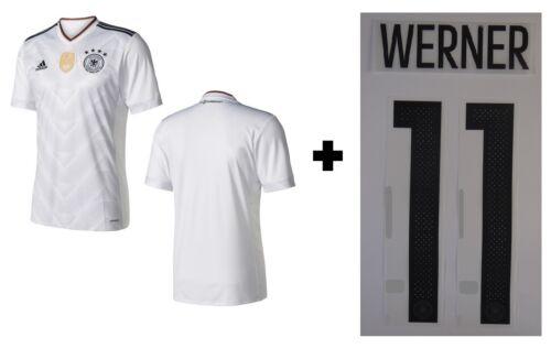 128-3XL Werner 11 Trikot Adidas DFB 2017 Home Confed Cup Deutschland RB