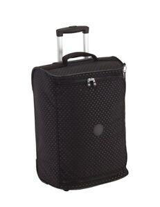 Attractive Image Is Loading Kipling Teagan Xs Black Dot Emb Cabin Suitcase