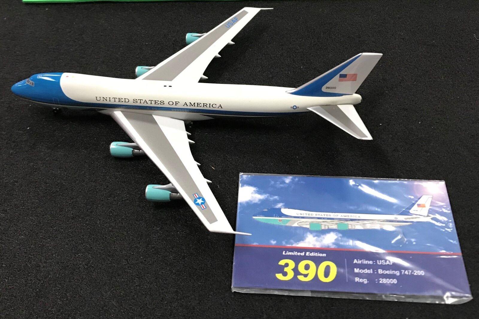 tienda Aviation 400 400 400 EE. UU. Estados Unidos de América B747-200 AV4742028 Reg 28000 (0040)  de moda