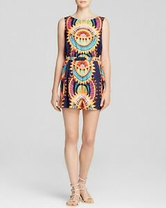 Navy M 242 Sunspoke Romper Hoffman Mara Printed Size Bloomingdale's Nwt 849226027244 Medium 0xwqvHd0