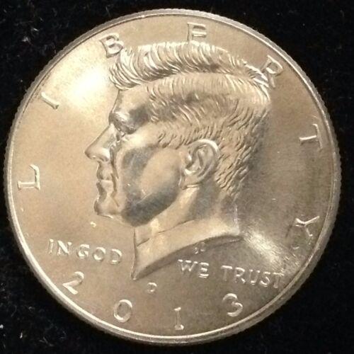 2013-D 50C Kennedy Half Dollar Ch BU