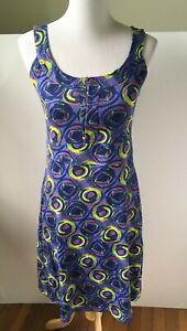 Women Rei Casual Dress Size Small Sleeveless Abstract