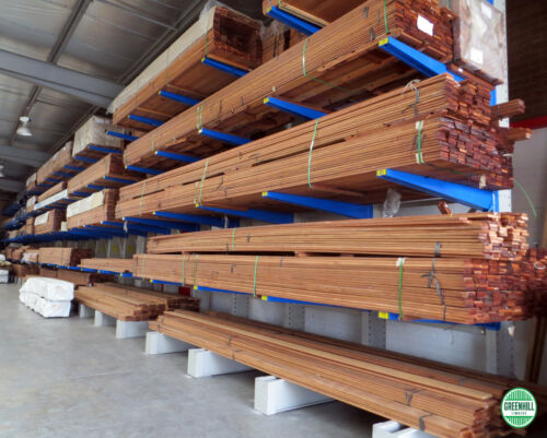 MERBAU DECKING 140x19 mm Random 1.84.2 $9.00lm