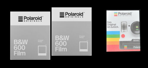 2Packs Polaroid Originals B /& W Film für for Polaroid 636 Close Up Kamera camera