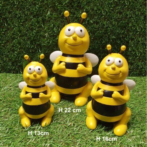 22cm Bienen Figur Willi Gartenfigur bunte Garten-Deko Dekofigur Insekt 13,16 od