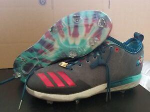 b2f507a40843 Adidas Boost Icon 3 Chicago Mens Baseball Cleats Size 14 CG4860 | eBay