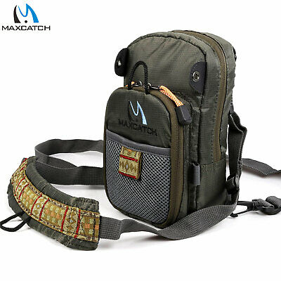 M MAXIMUMCATCH Maxcatch Fly Fishing Chest Bag Lightweight Chest Pack