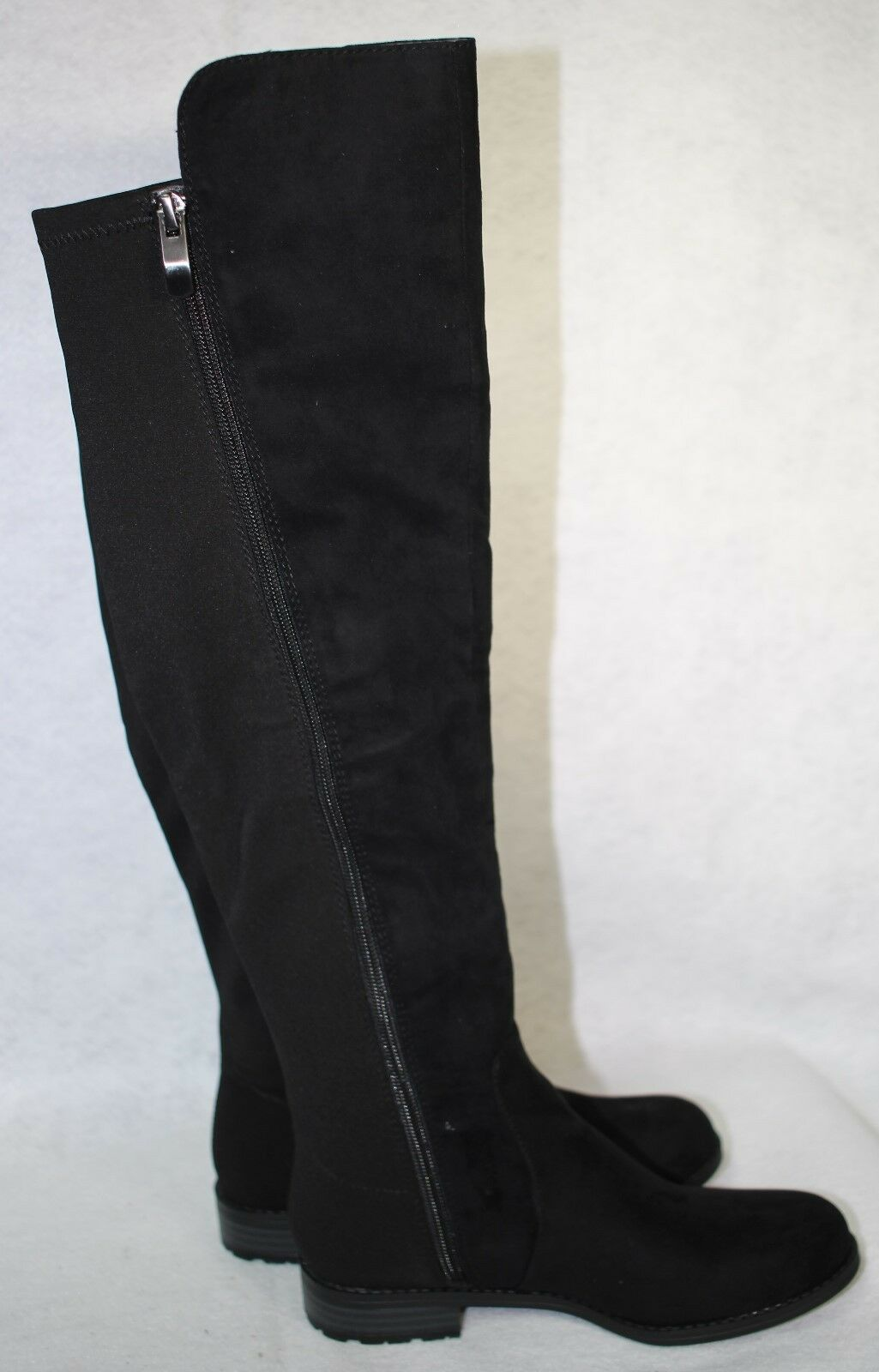 Liz Claiborne Claiborne Claiborne Paige Black Womens Knee High Fashion Boot US shoes Size 5 M 07f46c