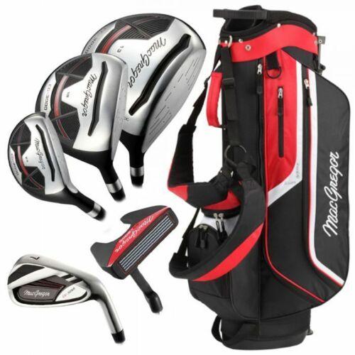 MacGregor-Mens-CG3000-Cart-Bag-Steel-Package-Set-6-SW-Right-Hand-Club-Set-New