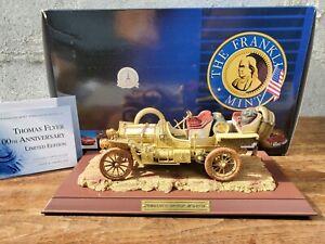 Franklin Mint 1907 Thomas Flyer Great Race 100th Anniversary 1:24 Diecast Car