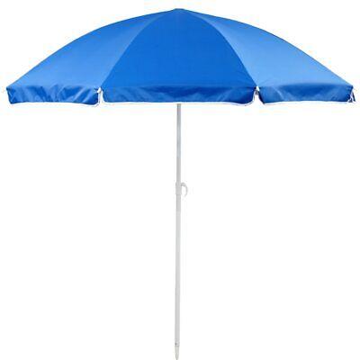 6ft Beach Umbrella Blue Portable W Carry Bag Sun Shade Protection Patio Outdoor 643794111851 Ebay