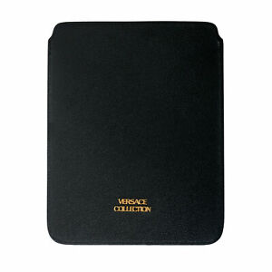 Versace-Collection-Black-Textured-Leather-Cover-Case
