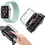 CINTURINO-COVER-VETRO-TEMPERATO-9H-per-Apple-Watch-5-4-3-2-44-42-40-38-mm miniatura 15