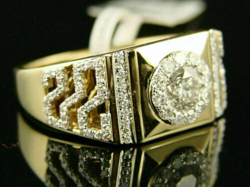 Details about  /Men/'s 14K Yellow Gold Over 2.50Ct Diamond Engagement Wedding Pinky Band Ring
