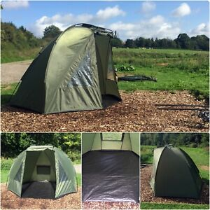 Quest-Shelter-MK2-Carp-Fishing-Bivvy-1-Man-Overnight-Shelter-Tackle-Brolly-2