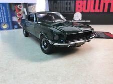 1/24 Franklin Mint Green 1968 Mustang GT Bullitt B11E904 Steve Mcqueen #113