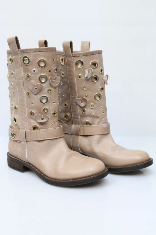 bottes  - 50% TWIN-SET chaussures chaussures CPS4DA BEIGE PP 100% pelle dp