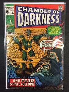 Chamber-Of-Darkness-5-amp-Fear-Shall-Follow-Marvel-Comics-Combine-Shipping