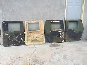 Image is loading HUMVEE-M998-HMMWV-X-DOORS-SET-OF-4- & HUMVEE M998 HMMWV X-DOORS SET OF 4 - M1038 M1025 | eBay pezcame.com