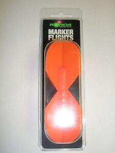 Korda De Rechange Dropzone Marqueur Ailerons Orange 2 Paquets