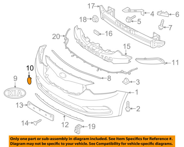 FRONT BUMPER COVER TOW HOOK 63017866