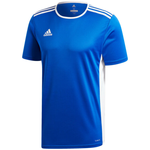 Kids' Clothes, Shoes & Accs. T-shirts, Tops & Shirts Adidas Entrada Boys Junior Kids Climalite Crew Sports Gym Football T Shirt Top Sale Price