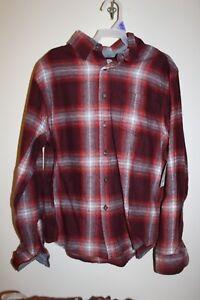 f97deb77f NEW Wonder Nation Boys Long Sleeve Flannel Plaid Shirt in Winsor ...