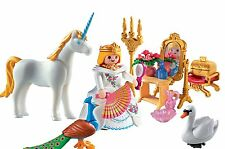 NEW PLAYMOBIL 5892 TAKE ALONG FAIRY TALE PRINCESS UNICORN CARRYING CASE PLAYSET