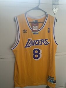 Details about BRAND NEW WITH TAGS Men's Kobe Bryant Jersey #8 Adidas Hardwood Classics Large