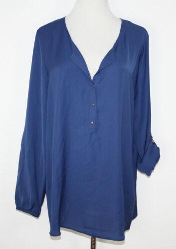 ESPRIT COLLECTION Chiffon Bluse blau NEU UVP 49,99€