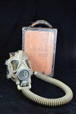RARE MSA GM Series Burrell type Miner's GAS MASK Original box