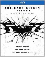 THE DARK KNIGHT TRILOGY (3 movie set) -   Blu Ray - Sealed Region free