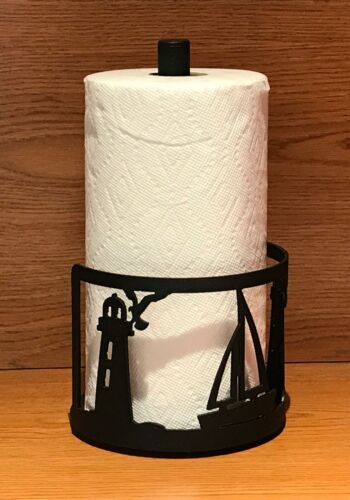 Made in USA Sailboat Steel Paper Towel Rack