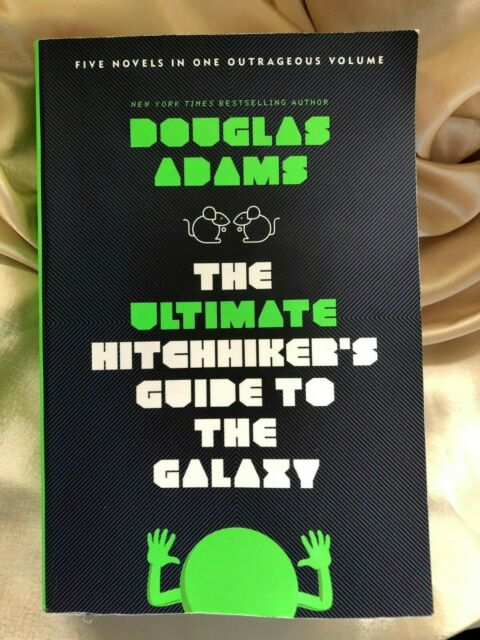 Five Novels -The Ultimate Hitchhiker's Guide to the Galaxy book - DOUGLAS ADAMS