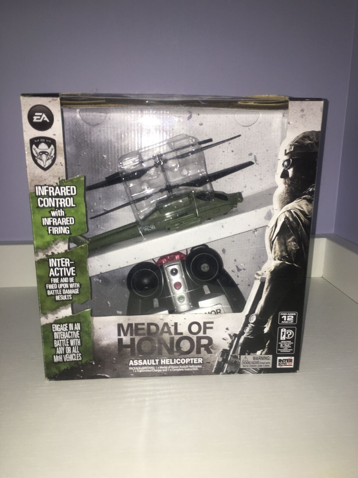 Interactive toy  medal of honor angriff r   c helikopter  moh  spiel