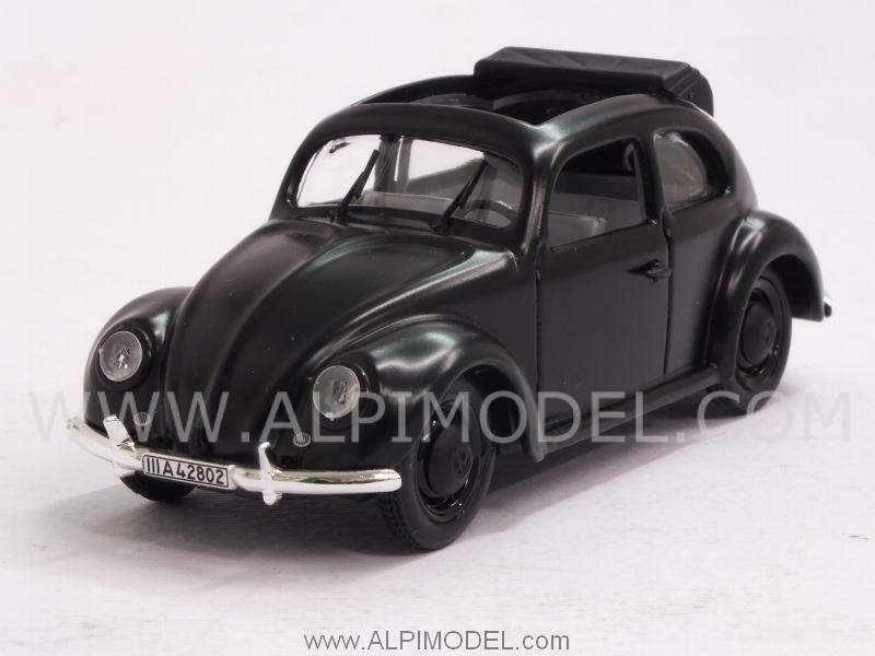 Volkswagen Beetle KdF Standard Limousine 1938 open sunroof 1 43 RIO 4104