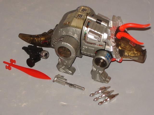 G1 transformers dinobot schlacke vollständige menge   6  original 1984 release  nett