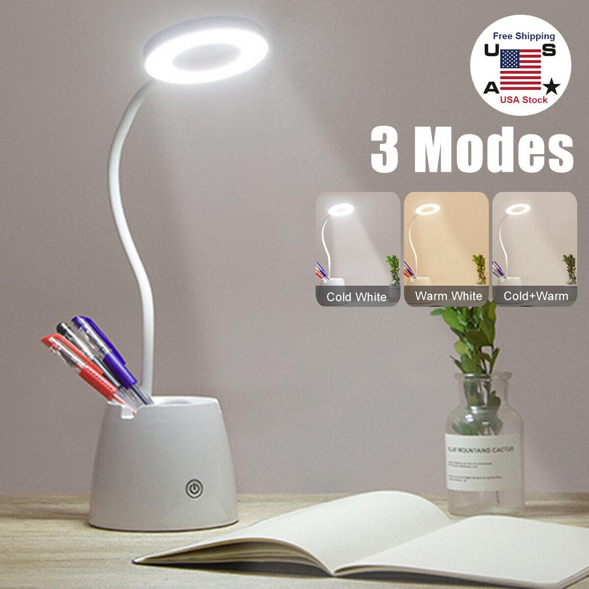 Image of: Platinet Modern Led Desk Lamp 3w 3 Step Mode Touch Control Flexible Frame For Sale Online Ebay