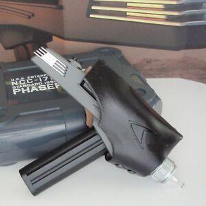 Star-Trek-TOS-Leather-Phaser-Holster-Wand-Playmates-Assault-P2-Midgrade-All