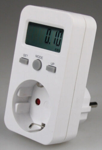 16A Strommesser Energiemessgerät Stromzähler Energiekosten-Messgerät bis 3680W