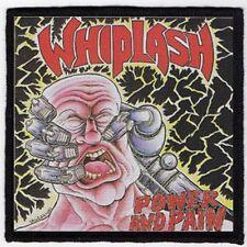 WHIPLASH PATCH / SPEED-THRASH-BLACK-DEATH METAL