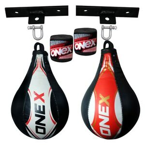 Double End Floor to Ceiling Speed Ball Swivel Dodg Exercise MMA Boxing Punch Bag